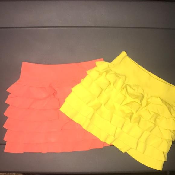 Crush Other - Girls Ruffled Skirts Size 4-6x